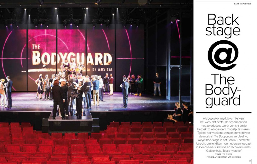 Backstage @ The Bodyguard-1